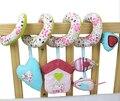 Кэндис го! красочные цветочные сердца дом спираль круглая кровать погремушки BB устройство детские игрушки подарок на день рождения 1 шт.