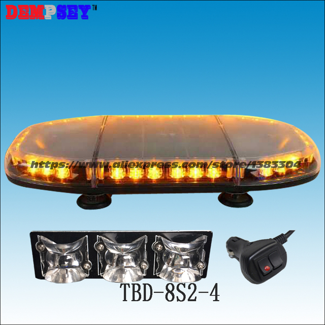 Tbd 8s2 4 super bright led mini lightbar24v emergency tbd 8s2 4 super bright led mini lightbar24v emergency construction vehicle light mozeypictures Image collections