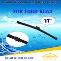 """Escovas Para FORD KUGA (2013-) 2014 2015 2016 Traseira Do Carro Brisas Windshield Wiper Blade 11 """"carros styling acessórios"""
