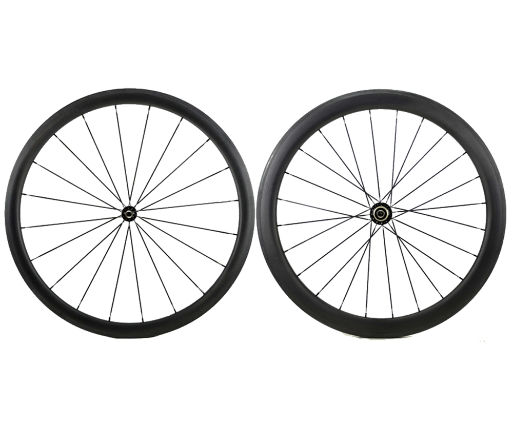 700C Front 38mm Rear 50mm road carbon wheels 23mm width Clincher bike carbon fiber wheelset with Powerway R36 Straight pull hub стоимость