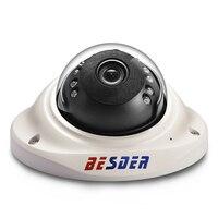 BESDER Wide Angle Vandal-proof IP Camera 1080P ONVIF RTSP P2P Motion Detect PoE 48V Security Video Camera For Elevator / House Surveillance Cameras