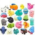 10 Pcs Brinquedos Da Água Misturada Animais Banho Swimming Float Squeeze Som Sibilante Borracha Macia Play Baby Toy Clássico Do Bebê de Borracha brinquedos