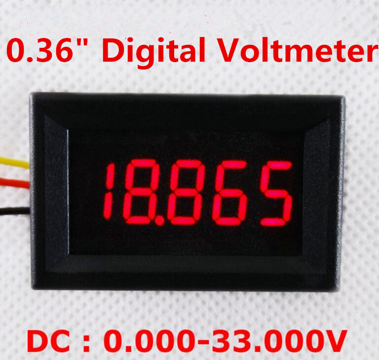 High Voltage Detector With Display : High quality new quot bit digital display voltmeter dc