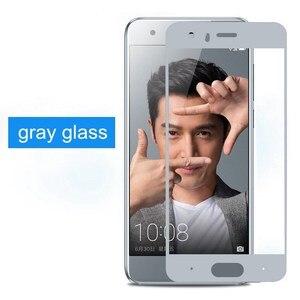 Image 5 - Pour Huawei honor 9 verre trempé pour Huawei honor 9 protecteur décran couverture complète 2.5D gris pour Huawei honor9 film de verre 5.15