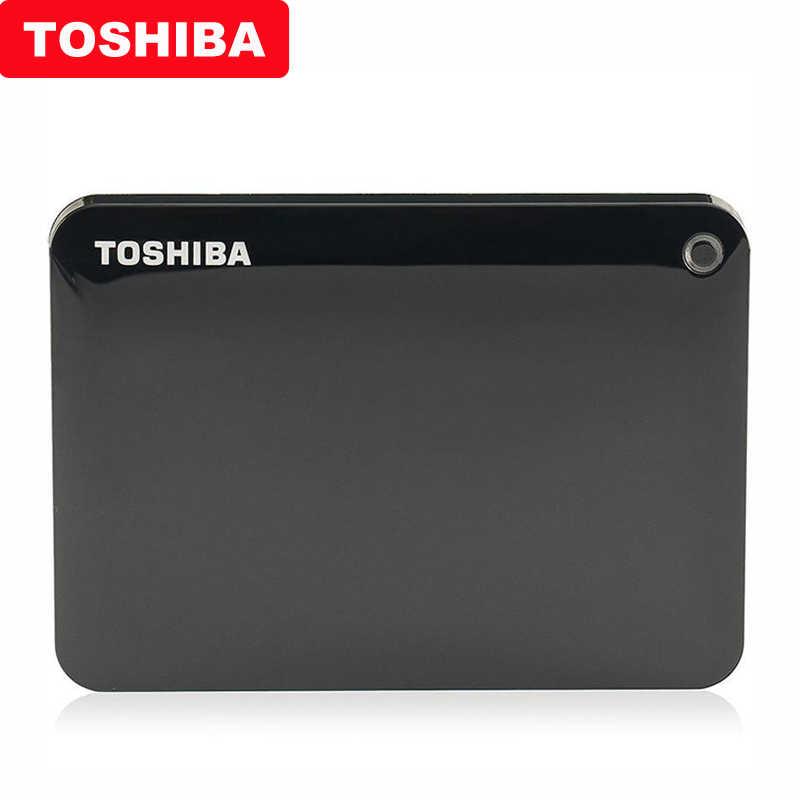 """Оригинальный Toshiba Canvio передовые V9 USB 3,0 2,5 """"1 ТБ 2 ТБ 3 ТБ HDD Портативный внешний жесткий диск мобильного телефона для портативного компьютера"""