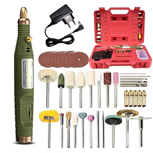 Mini Electric Drill Polished Borehole Grinder Set DIY Electric Hand Drill 18V Micro-drilling Tool Kit With Carry