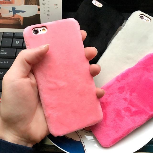 coque iphone 6 en velour