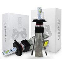 T9 LED 12V 3000K 4300K 6000K Headlight 60W 9600LM 9005 HB3 9006 HB4 9007 HB5 H11 H1 H3 H7 H13 H4 LED 880 Lights Automobile Lamp