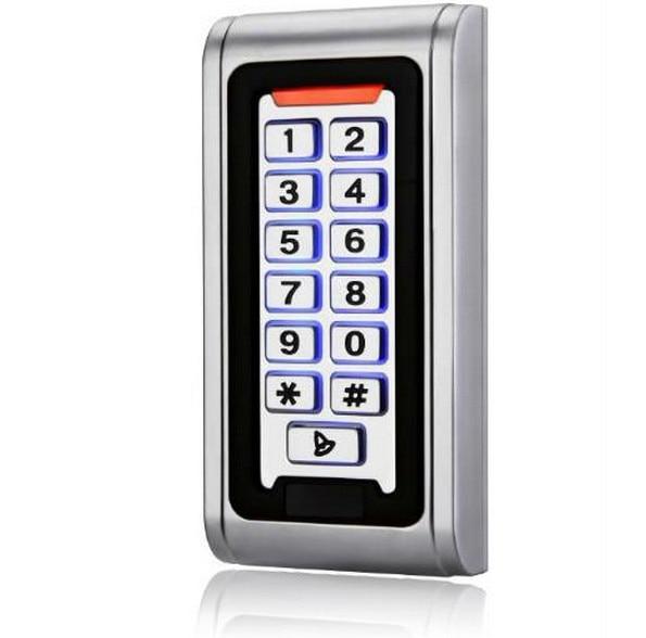 ФОТО Metal Waterproof Outdoor Standalone Keypad Door Access