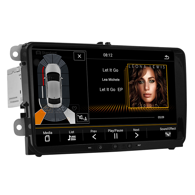 Car Multimedia player DVD Android8 1 For VW Volkswagen Golf Polo Tiguan Passat Jetta CC SEAT leon Skoda EOS 8 quot 2G 32G Radio GPS in Car Multimedia Player from Automobiles amp Motorcycles
