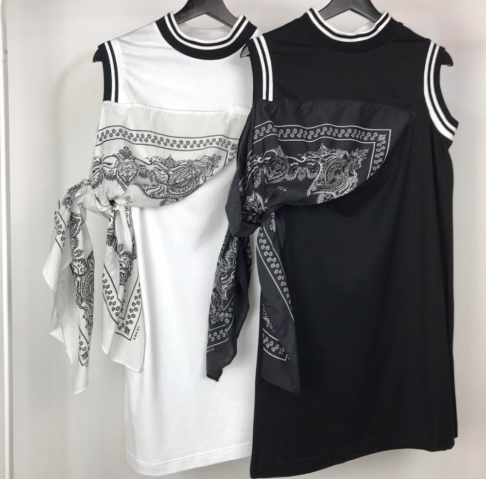 2019 spring and summer new ladies round neck short-sleeved dress 0326