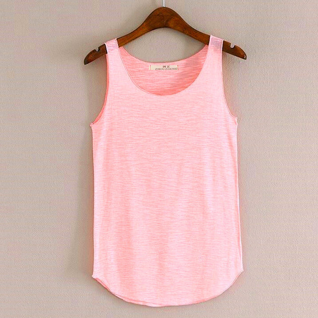 2017 Spring Summer Sexy Tank Tops Women Sleeveless Round Neck Loose Quick Dry T Shirt Ladies Casual Shirts Vest Singlet  Tshirt