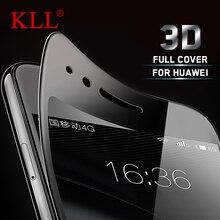 3D Full Cover Curved Carbon Fiber Soft Edge Tempered Glass for Huawei Honor 8 9 G8 P10 V8 V9 G7 P9 Nova 2 Plus Screen Protector