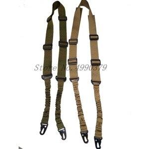 Image 4 - Mayitr הצבאי Heavy Duty אקדח חגורת רצועת טקטי 2 נקודות ניילון בנג י רובה קלע חיצוני אקדח אבזרים