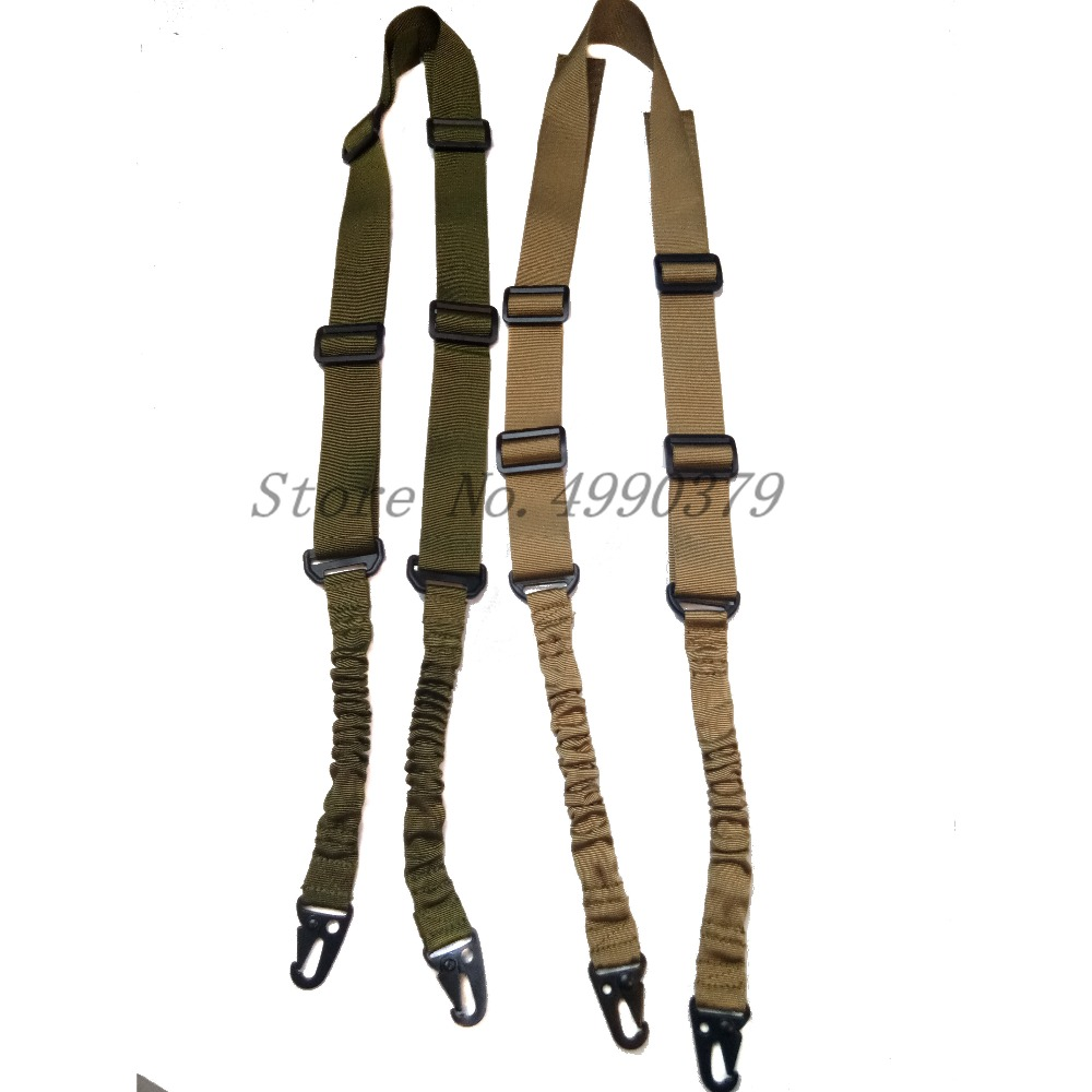 Image 4 - Mayitr Military Heavy Duty Gun Belt Strap Tactical 2 Points Nylon Bungee Rifle Sling Outdoor Gun Accessories-in Hunting Gun Accessories from Sports & Entertainment