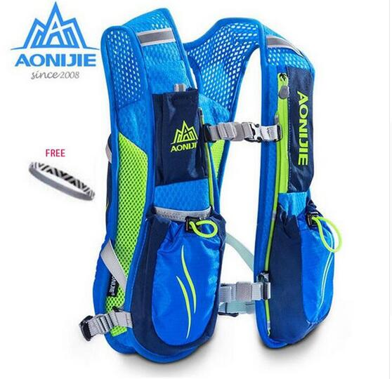 AONIJIE Running Marathon Hydration Backpack Breathable Lightweight Fit with PC ML Bottles
