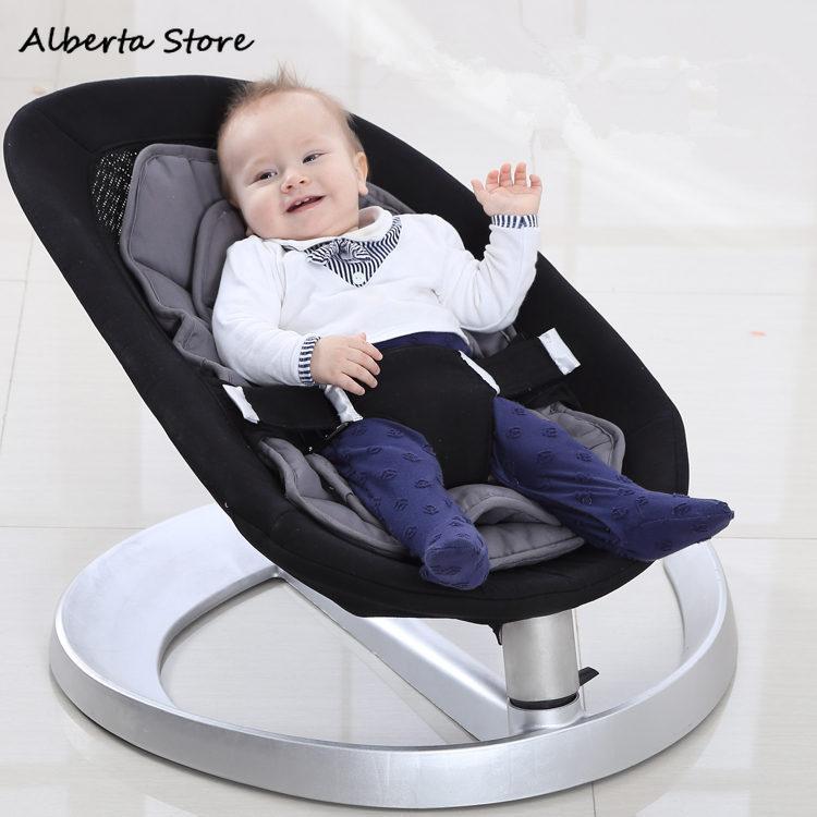 2019 nouveau bébé videurs inclinable dormir artefact nouveau-né berceau bébé balançoire confort chaise couffin bébé enfants à bascule videurs - 2