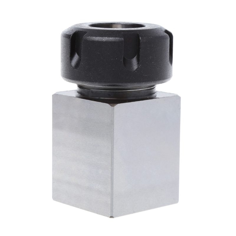 OOTDTY ER-25 Square Collet Chuck Block Holder 3900-5123 For CNC Lathe Engraving Machine 1pc er 32 square collet chuck block holder 3900 5124 hard steel 45x65mm for cnc lathe engraving machine