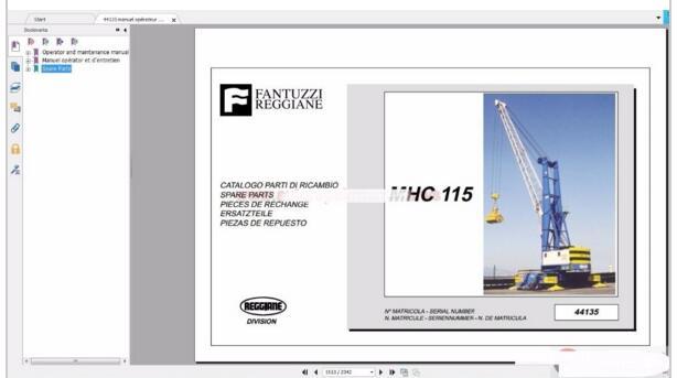 fantuzzi harbnour cranes operator maintenance manual hydraulic and rh aliexpress com Clark Forklift Replacement Parts Clark Forklift Hydraulic Cylinder Diagram