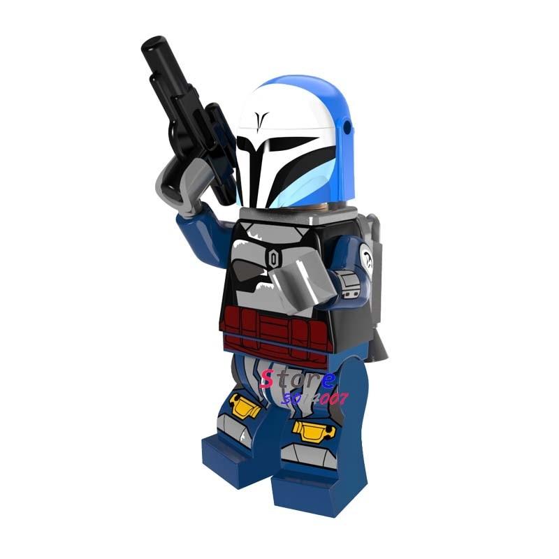 Single star wars The Grand Inquisitor Ewok Clone Trooper Coleman Trebor Jedi building blocks models bricks toys for children kit