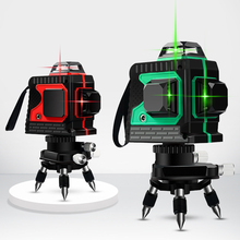 Laser Level 8 Lines 2D Green Line Level Vertical Cross Super Powerful Red Laser Level construction tools