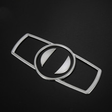 1 Set 3 Pieces Car Modified Headlight Switch Decorative Stickers For BMW 5 Series GT 7 X3X4