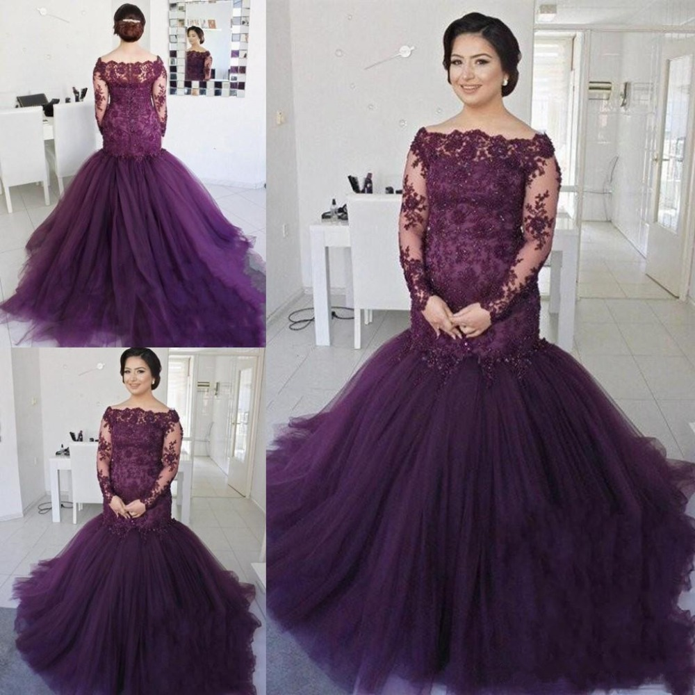 Long Sleeve Mother Of The Bride Dresses 2019 Vestido De Madrinha Lace Up Back Formal Mothers Evening Prom Dress Party Gowns