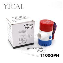 Bilge Pump 1100GPH DC 12V 24V Submersible Electric Water For Seaplane Civil Ship Houseboat Boats