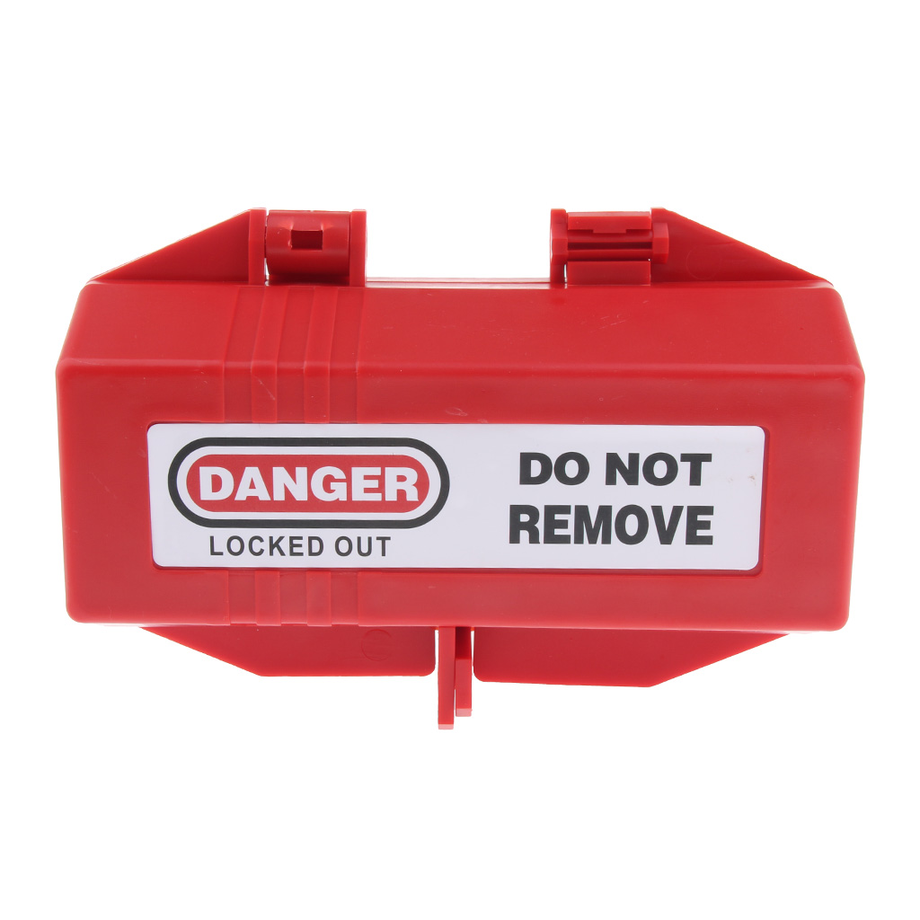 Electrical Appliance Large Plug Lockout Tagout Box Lock Device Safety LOTO Tool, 175 X 125 X 85 Mm / 6.9 X 4.9 X 3.3''