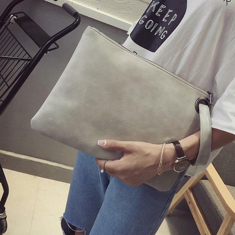 Women's Wallet Newest Brown Print Pu Soft Wallet Bag for Women 2018 Fashion Grace Zipper Portable Travel Phone Purse Bag(China)