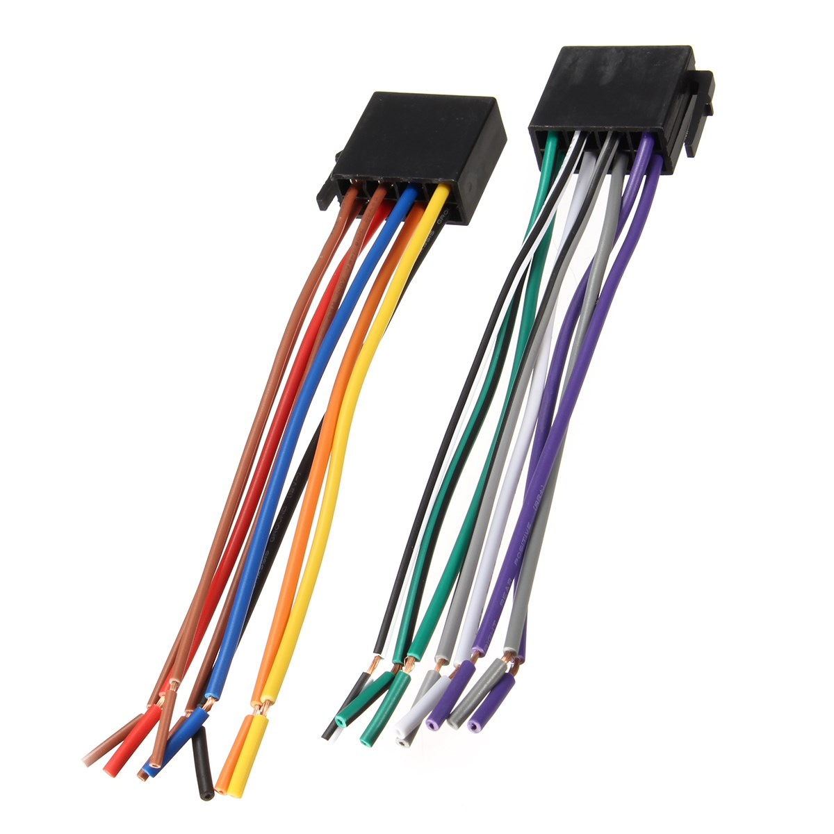 Universal Wire Harness Adapter Connector Cable Radio Wiring Connector Plug for Auto Car Stereo System universal wire harness adapter connector cable radio wiring universal radio wiring harness at cos-gaming.co