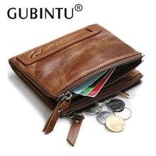 HOT!!! Genuine Crazy Horse Cowhide Leather Men Wallet Short Coin Purse Vintage Mini Wallet Brand High Quality Vintage Designer