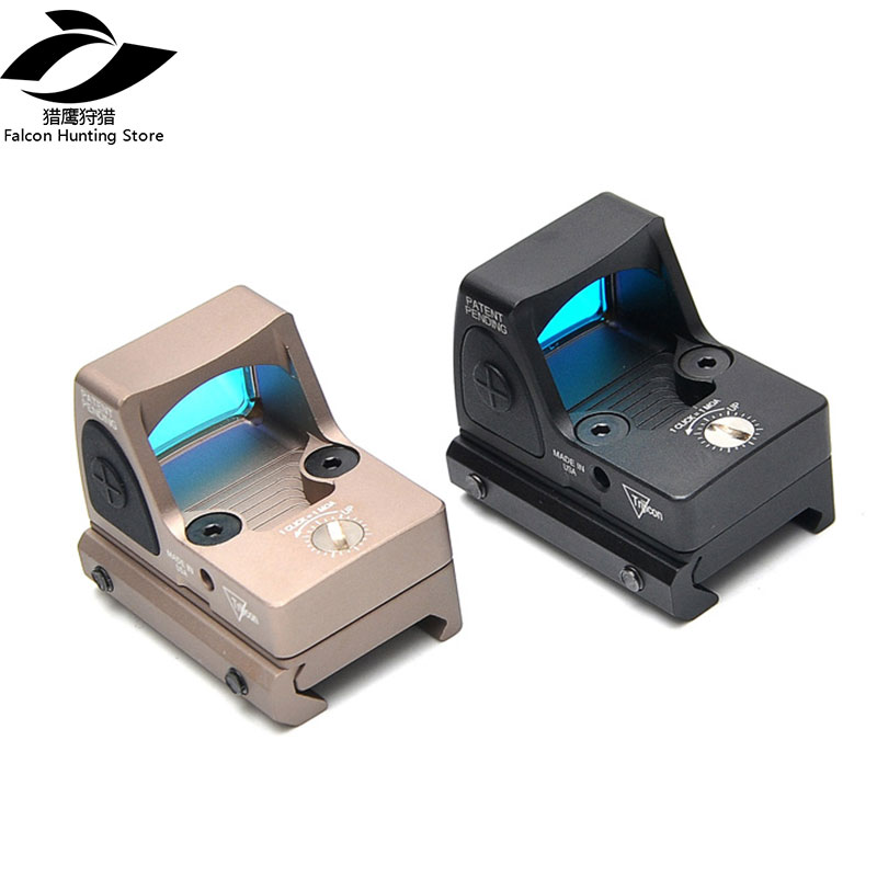 Hunting Holographic Sight RMR Red Dot Sight Scope Collimator Glock Reflex Sight Scope Fit 20mm Weaver Rail For Airsoft