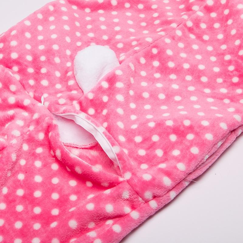 Payız Qış Oğlanları Qızlar Pijama Sevimli Cizgi Filmi KT Pişik - Karnaval kostyumlar - Fotoqrafiya 6