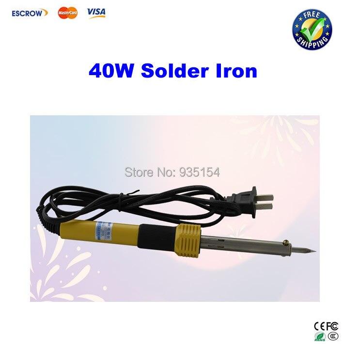 40W electric solder iron, constant temperature soldering iron free shipping soldering iron 60w electric soldering iron constant temperature solder iron
