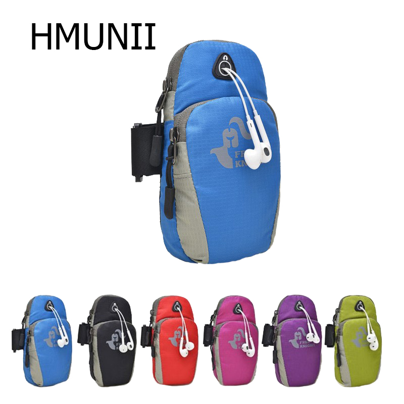 HMUNII Men Women Movement Pouch Zippered Arm Compact Security Money Arm Packs Waterproof Oxford Cloth Arm Packs Tarvel Arm Packs