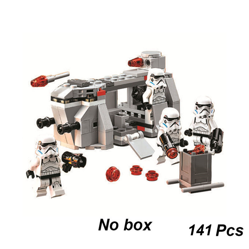 141pcs StarWars Royal Army Imperial Troop Transport Bela Compatible With Legoinglys Star Wars 75078 Building Block Brick DIY Toy