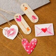 50 шт. цветочные подарочные бирки вечерние бумажное украшение для свадьбы бирка Фламинго ананас бумажные карточки DIY этикетки ручной работы для одежды подвесные бирки