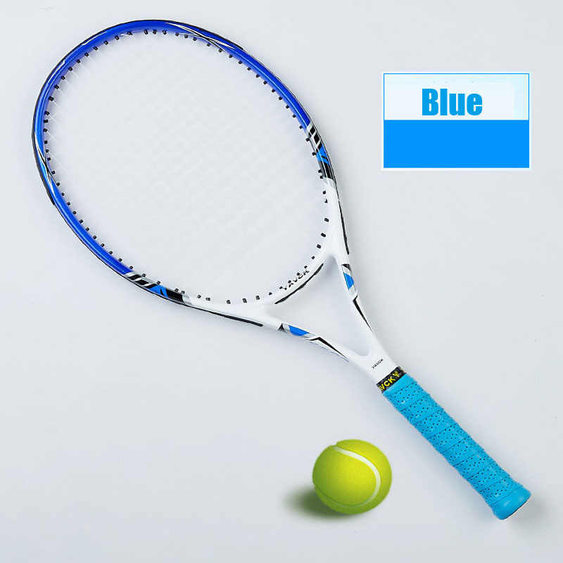 Carbon Fiber Tennis Racket Men Tennis Racquet With Strung Bag Grip Size 4 1/4 Raqueta Tenis Padel Racket Masculino Tenis Carbon
