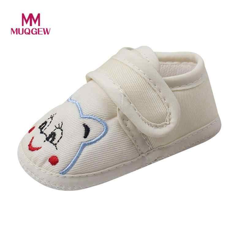 Çocuklar bebek kız erkek yumuşak taban hayvan karikatür kaymaz ayakkabı bebek ayakkabısı Shoes enfant sapato infantil erkek kız ayakkabı