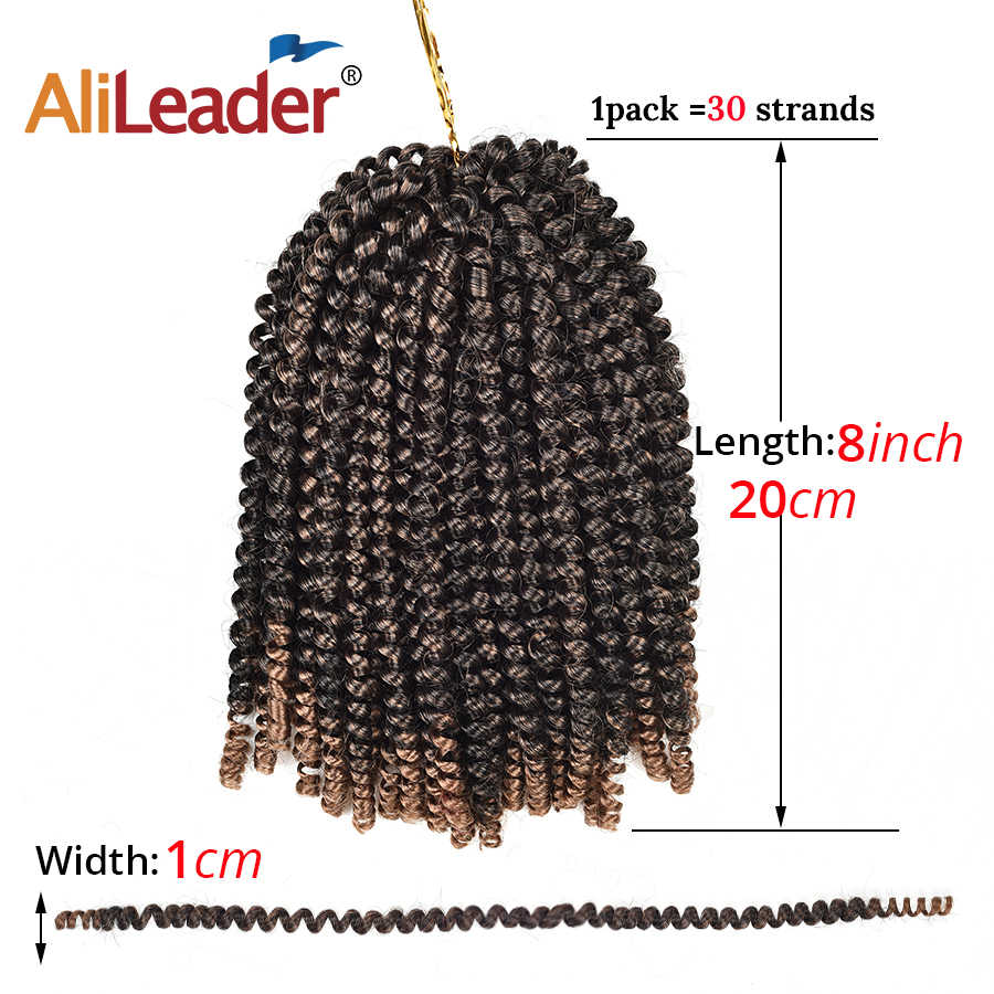 Detail Feedback Questions About Alileader 8 Spring Twist Braiding