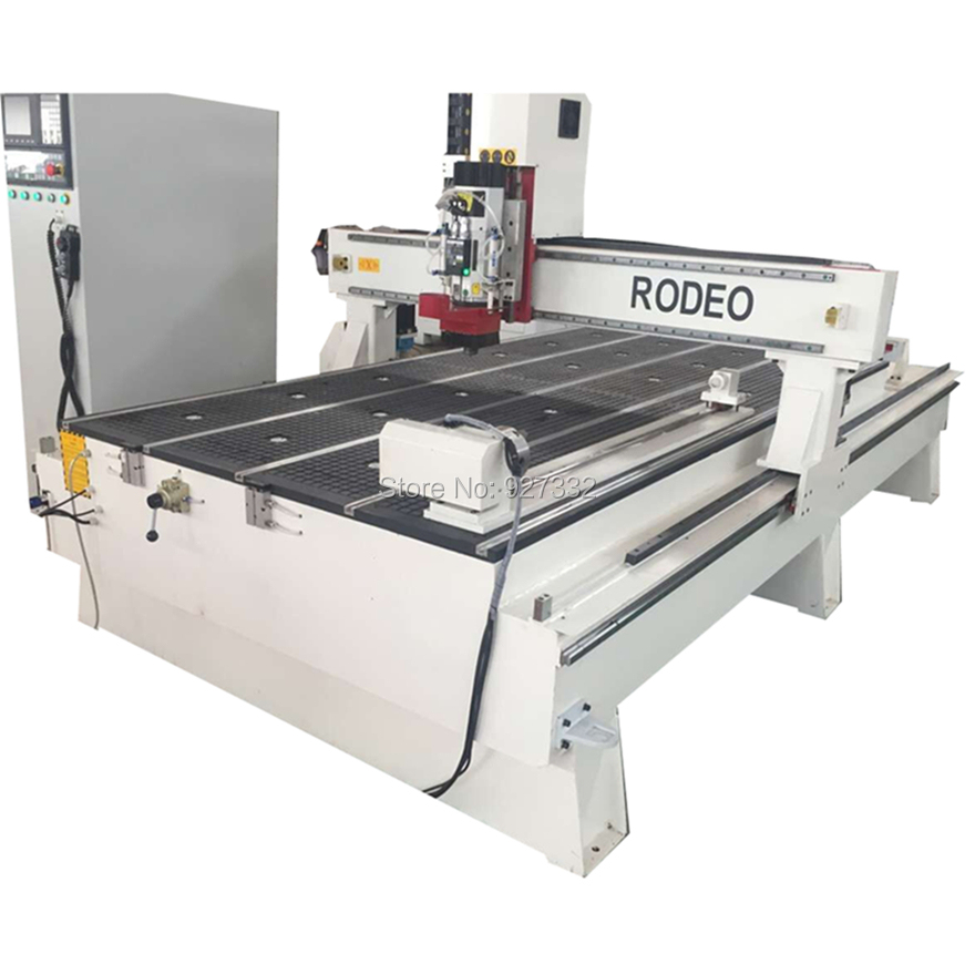 China factory linear ATC cnc router machine/HSD automatic tool changer cnc router with low price