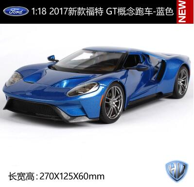 Maisto 1:18 2017 new Ford GT car model original alloy diecast collection gift toy Concept cars sports car Fast & Furious 2015 new ford taurus 1 18 original alloy car models changan ford kids toy beautiful box gift boy limit collection silver