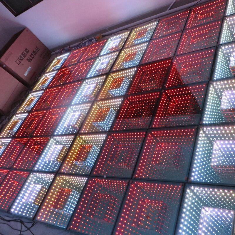 Hotsale 3D Mirror Led Dance Floor Disco Light For Wedding Nightclub