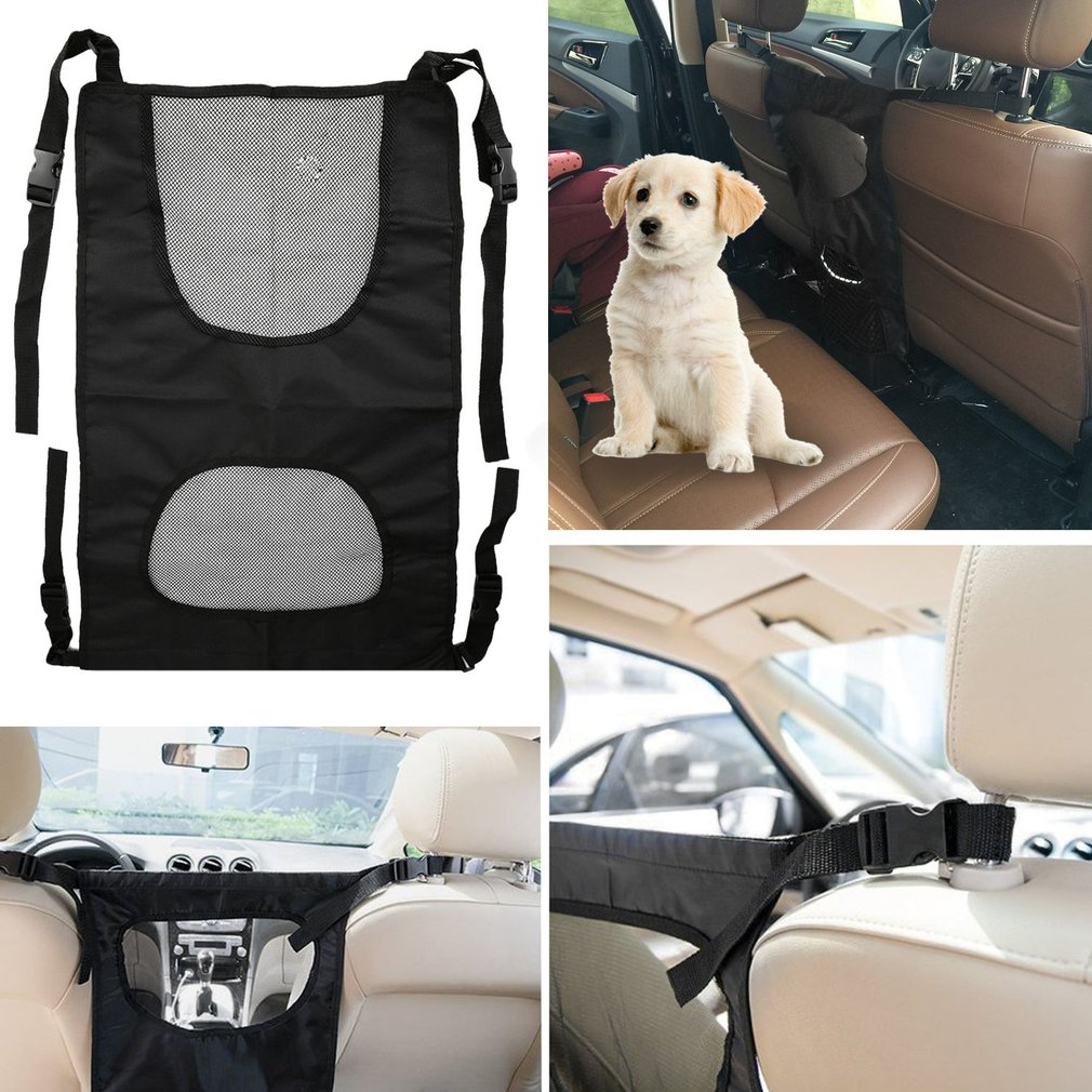 TAILUP Hot Gog Seat Gate Adjustable Vehicle Safety Back Seat Pet Gate Barrier Mesh Cage Net Car Dog 2017 New Car Pet Back Seat
