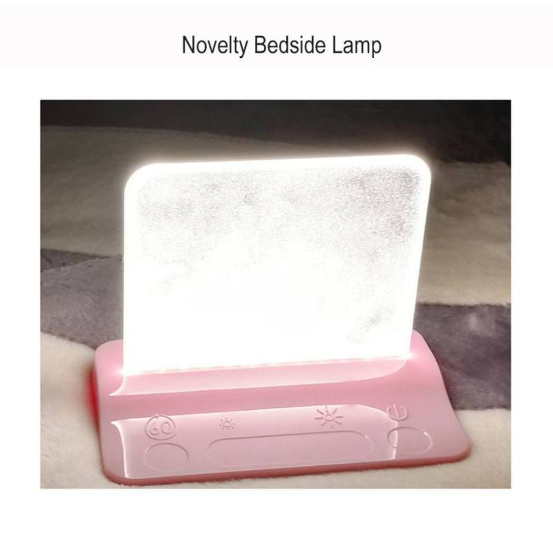 Reading Task Clamp Clip-on Lamp Lighting Desktop Magnifier Magnifying Glass Led Table Clamp Lamp Charging Port For Phones