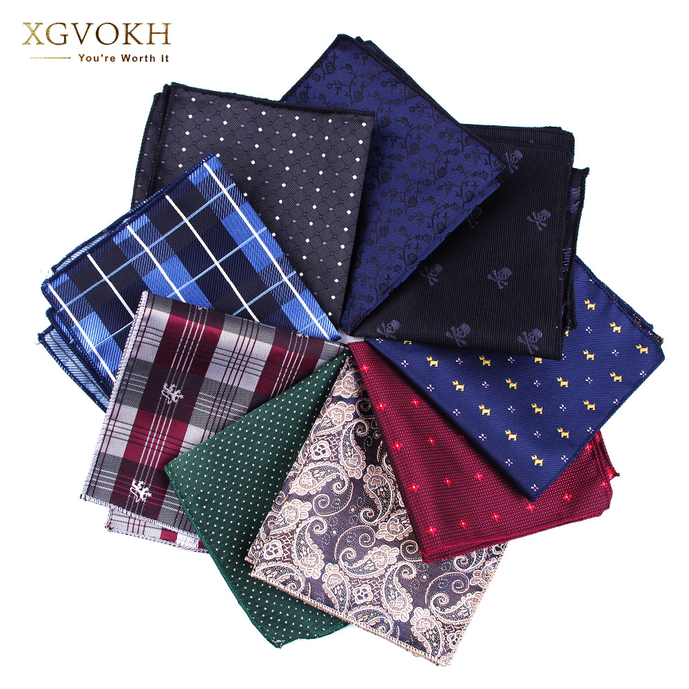 Yeni cravat Hankerchief Praktik Hankies Kişi Cibi Çap rəsmi toy 23 * 23cm dress Collocation aksesuarları