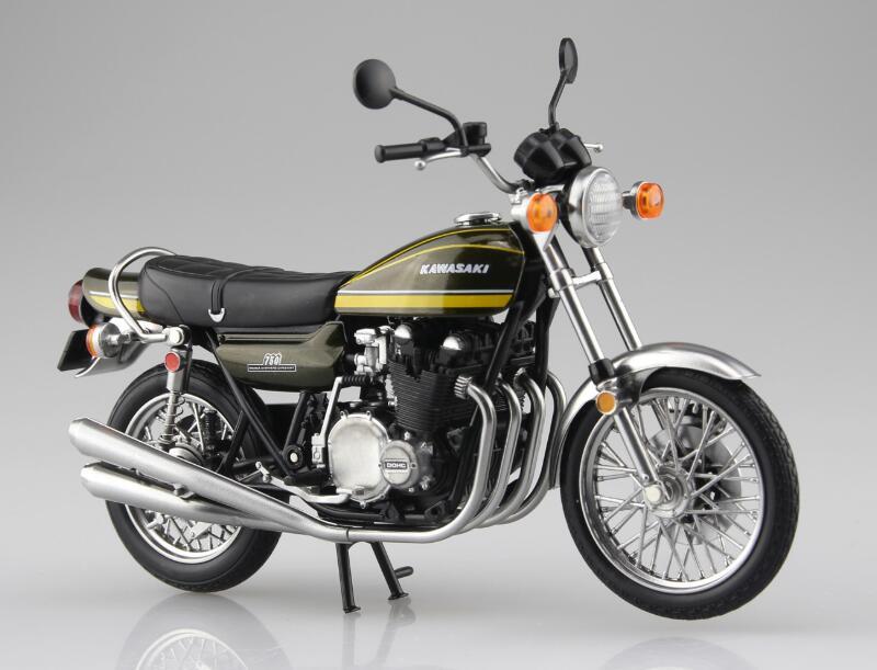 1 12 Aoshima SKYNET Finished Model Diecast Motorcycle Kawasaki 750RS Classics Motor Model Bike