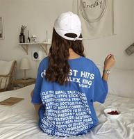 KYMAKUTU Hipster Streetwear Letter Printed T Shirts Short Sleeve O Neck Tee Shirt Femme Poleras Mujer