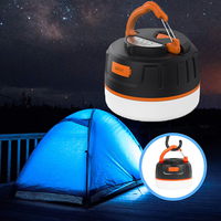 Portable Camping Light Lanterna Led Work Light USB Rechargeable 5200mAh Power Bank Torch Lamp For Hiking Outdoor Camping Tent